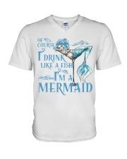 I'M A MERMAID - MB135 V-Neck T-Shirt thumbnail
