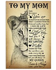 TO MY MOM  24x36 Poster front