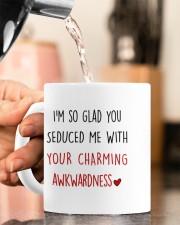YOU SEDUCED ME WITH YOUR CHARMING AWKWARDNESS Mug ceramic-mug-lifestyle-65