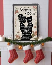 TO MY BONUS MOM  24x36 Poster lifestyle-holiday-poster-4