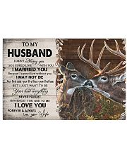 TO MY HUSBAND  17x11 Poster thumbnail