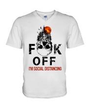 Fuck off  V-Neck T-Shirt thumbnail