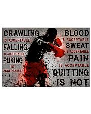 QUITTING IS NOT  17x11 Poster thumbnail