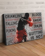 QUITTING IS NOT  30x20 Gallery Wrapped Canvas Prints aos-canvas-pgw-30x20-lifestyle-front-07