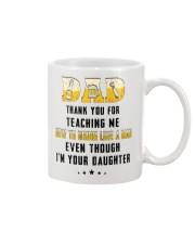 HOW TO DRINK LIKE A MAN  Mug front