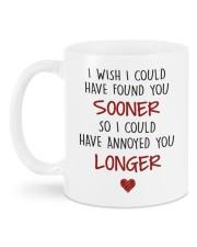 ANNOYED YOU LONGER Mug back