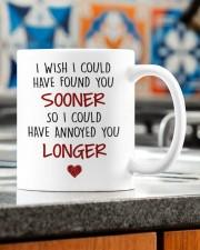 ANNOYED YOU LONGER Mug ceramic-mug-lifestyle-57