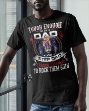 CRAZY ENOUGH TO ROCK THEM BOTH Classic T-Shirt apparel-classic-tshirt-lifestyle-front-39