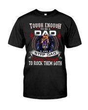 CRAZY ENOUGH TO ROCK THEM BOTH Classic T-Shirt front