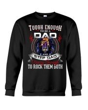 CRAZY ENOUGH TO ROCK THEM BOTH Crewneck Sweatshirt tile