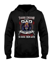 CRAZY ENOUGH TO ROCK THEM BOTH Hooded Sweatshirt tile