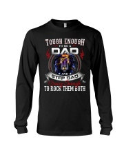 CRAZY ENOUGH TO ROCK THEM BOTH Long Sleeve Tee tile