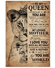 TO MY QUEEN Vertical Poster tile