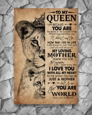 TO MY QUEEN 24x36 Poster aos-poster-portrait-24x36-lifestyle-13