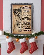 TO MY QUEEN 24x36 Poster lifestyle-holiday-poster-4