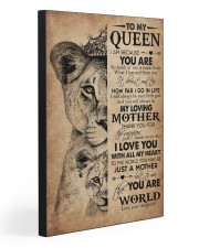 TO MY QUEEN 20x30 Gallery Wrapped Canvas Prints thumbnail
