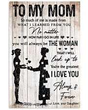 TO MY MOM Vertical Poster tile