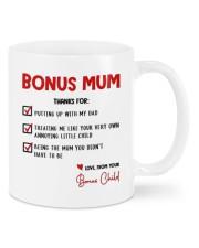 LOVE FROM YOUR BONUS CHILD Mug front