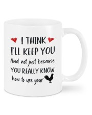 YOU REALLY KNOW HOW TO USE YOUR COCK Mug front