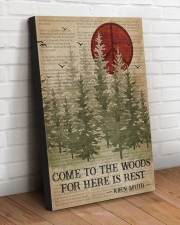 COME TO THE WOODS FOR HERE IS REST  20x30 Gallery Wrapped Canvas Prints aos-canvas-pgw-20x30-lifestyle-front-14