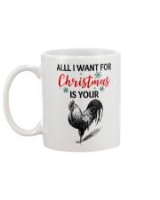 ALL I WANT FOR CHRISTMAS IS YOUR COCK Mug back