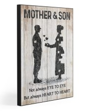 MOTHER AND SON  20x30 Gallery Wrapped Canvas Prints front