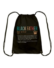 TO MY BLACK FATHER - MB203 Drawstring Bag thumbnail