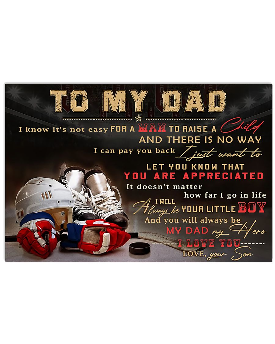 TO MY DAD - MB317 36x24 Poster