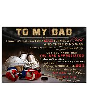 TO MY DAD - MB317 36x24 Poster front