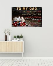 TO MY DAD - MB317 36x24 Poster poster-landscape-36x24-lifestyle-01