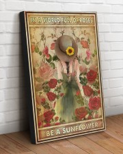 BE A SUNFLOWER 20x30 Gallery Wrapped Canvas Prints aos-canvas-pgw-20x30-lifestyle-front-14