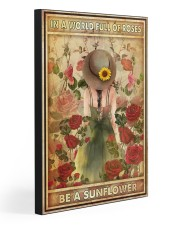 BE A SUNFLOWER 20x30 Gallery Wrapped Canvas Prints front