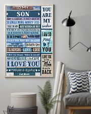 TO MY SON - MB331 16x24 Poster lifestyle-poster-1