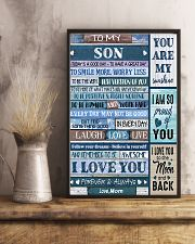 TO MY SON - MB331 16x24 Poster lifestyle-poster-3