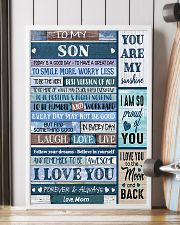 TO MY SON - MB331 16x24 Poster lifestyle-poster-4