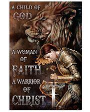 A WARRIOR OF CHRIST Vertical Poster tile