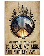 LOSE MY MIND AND FIND MY SOUL  Vertical Poster tile
