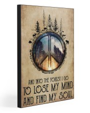 LOSE MY MIND AND FIND MY SOUL  20x30 Gallery Wrapped Canvas Prints front