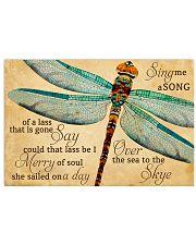 Sing me a song Horizontal Poster tile