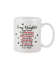 TO MY DAUGHTER  Mug tile