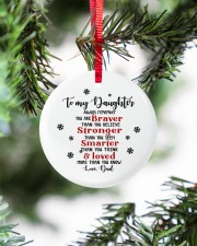 TO MY DAUGHTER  Circle ornament - single (porcelain) aos-circle-ornament-single-porcelain-lifestyles-07