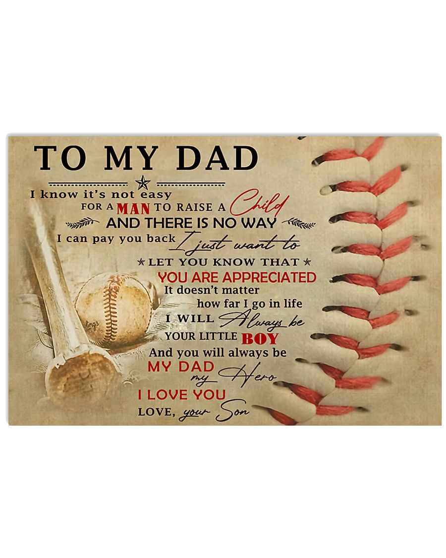 TO MY DAD - MB300 36x24 Poster