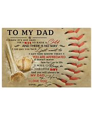 TO MY DAD - MB300 36x24 Poster front