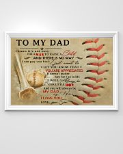TO MY DAD - MB300 36x24 Poster poster-landscape-36x24-lifestyle-02