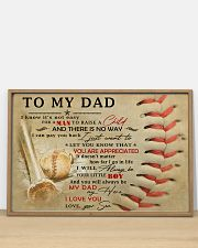 TO MY DAD - MB300 36x24 Poster poster-landscape-36x24-lifestyle-03
