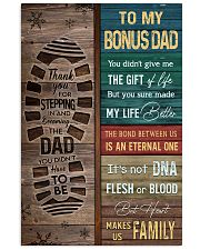 TO MY BONUS DAD 11x17 Poster thumbnail