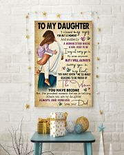 TO MY DAUGHTER  24x36 Poster lifestyle-holiday-poster-3