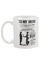 TO MY MOM - MILITARY - 15411 Mug back