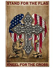 Stand for the flag Kneel for the cross 11x17 Poster thumbnail