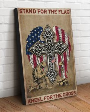 Stand for the flag Kneel for the cross 20x30 Gallery Wrapped Canvas Prints aos-canvas-pgw-20x30-lifestyle-front-14
